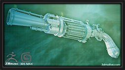 Next-Gen Weapon Modeling in 3ds Max Udemy Coupon & Review