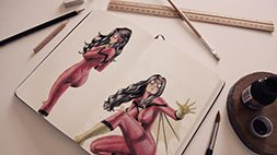 Discover How to Draw and paint Comics Udemy Coupon & Review