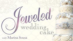 Jeweled Wedding Cake Craftsy Review
