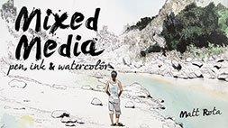 Mixed Media: Pen, Ink, & Watercolor Craftsy Review