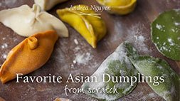Favorite Asian Dumplings from Scratch Craftsy Review