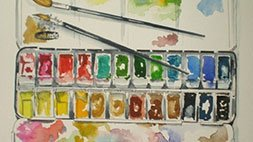 #Begin WATERCOLOUR PAINTING EFFORTLESSLY, learn as you PLAY Udemy Coupon & Review