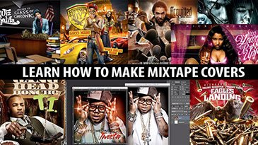How To Make Mixtape Covers & Mixtape Graphics in Photoshop. Udemy Coupon & Review