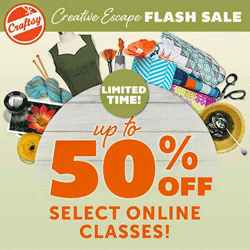 Craftsy Sale Courses