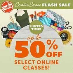 Craftsy Sale Courses